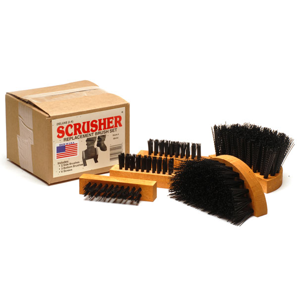 Deluxe & Big Boot SCRUSHER® Replacement Brushes