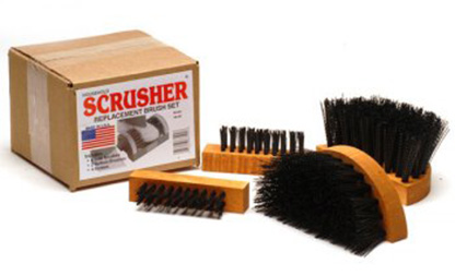 Original Scrusher® replacement brushes